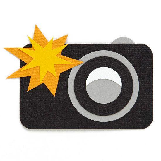 Snapshot camera clipart.