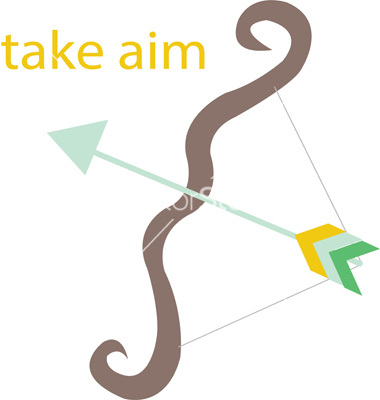 Take aim vector by WindmillDesigns.