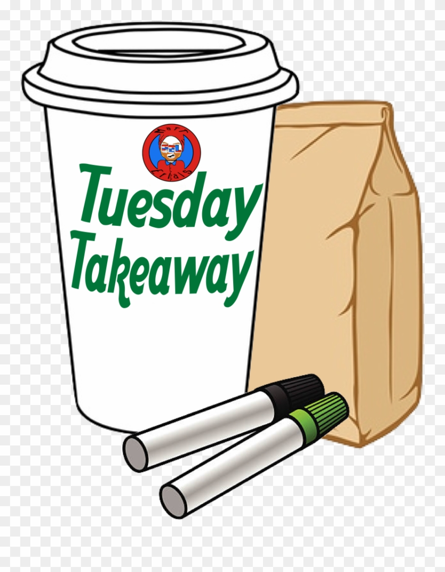 Takeaway Tuesday Clipart (#1114957).