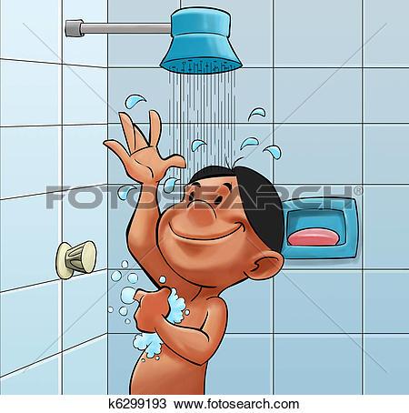 Taking bath Clip Art and Stock Illustrations. 102 taking bath EPS.