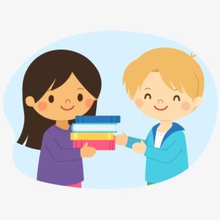 Take Care Of The Books , Transparent Cartoon, Free Cliparts.