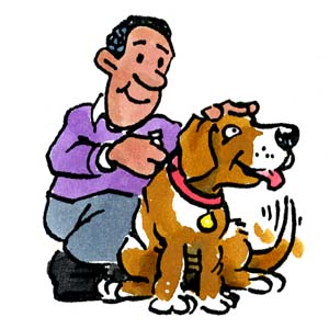 Taking Care Of Animals Clipart.
