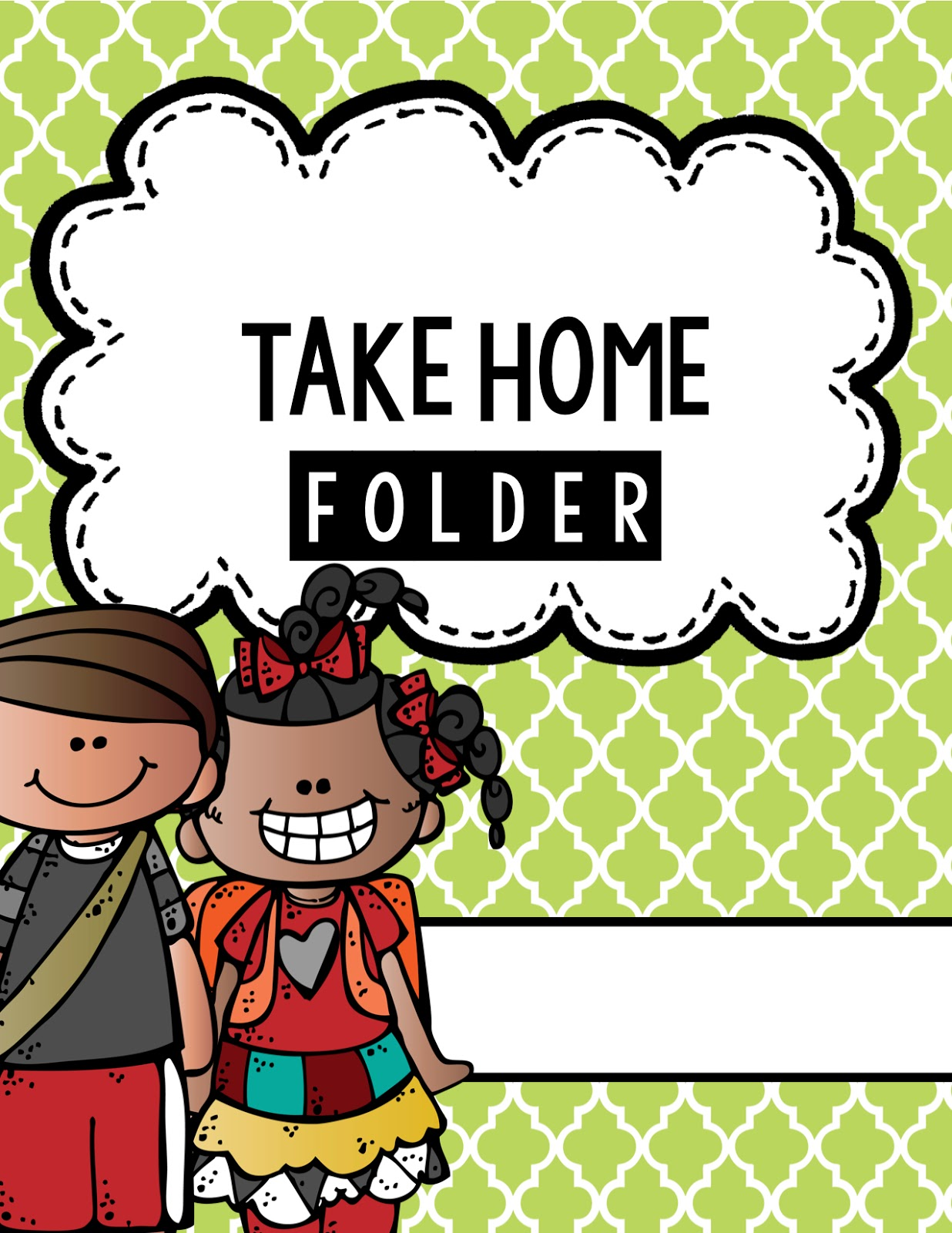 Take home message clipart.