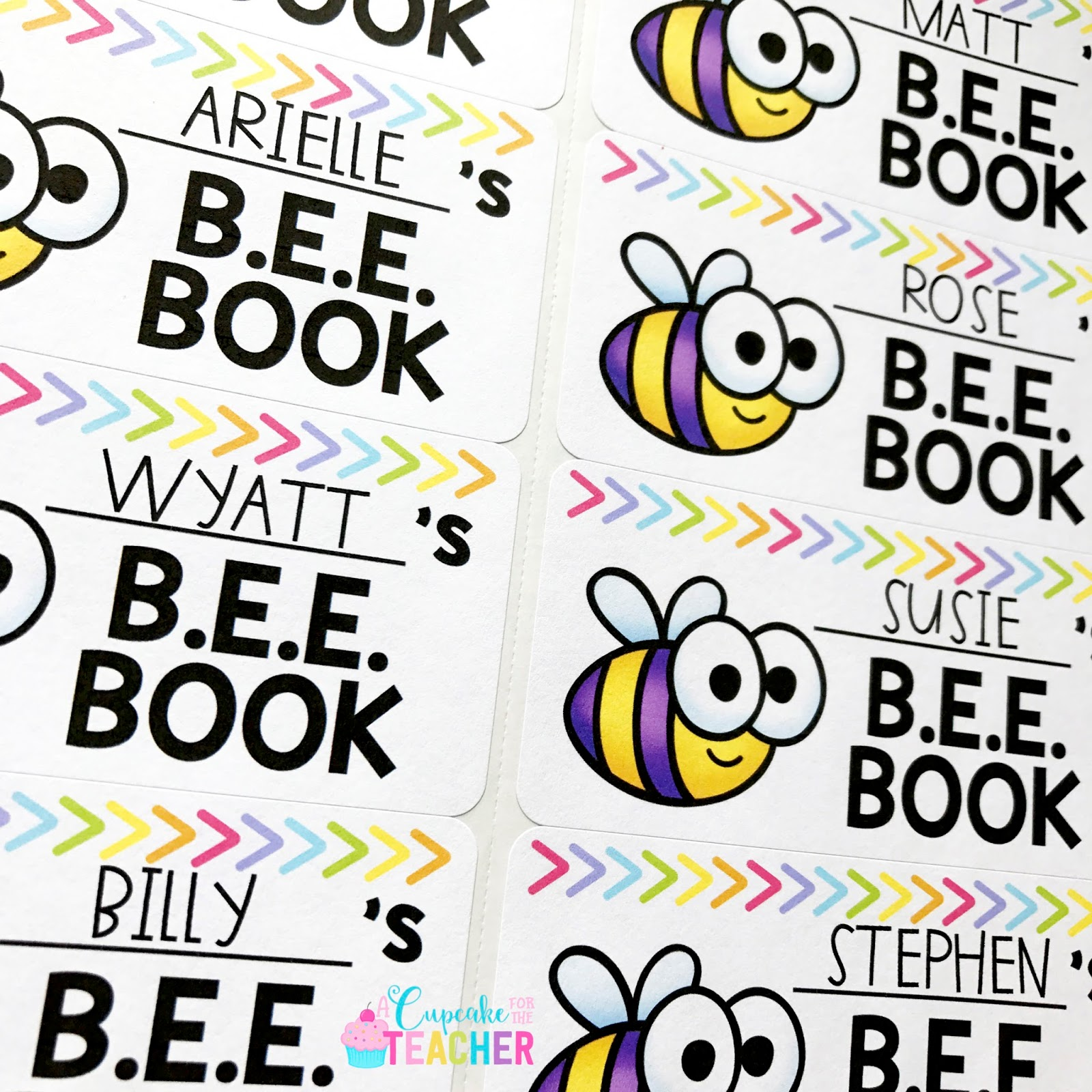 BEE Book Take Home Folders.