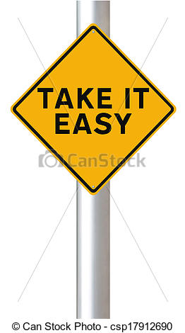 Stock Photographs of Take It Easy.