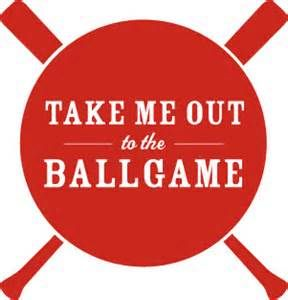 take me out to the ball game clip art.