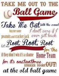 Image result for take me out to the ballgame clipart.