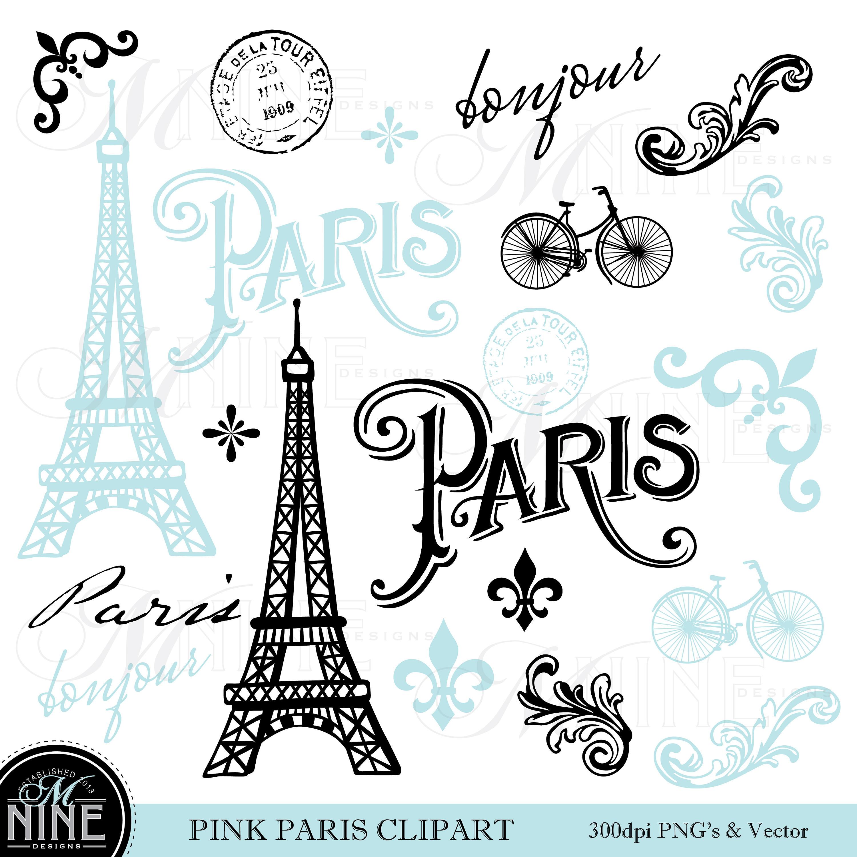 Paris In Clipart.