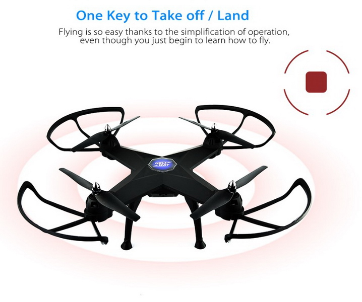HELIWAY 908 RC quadcopter for newbies.