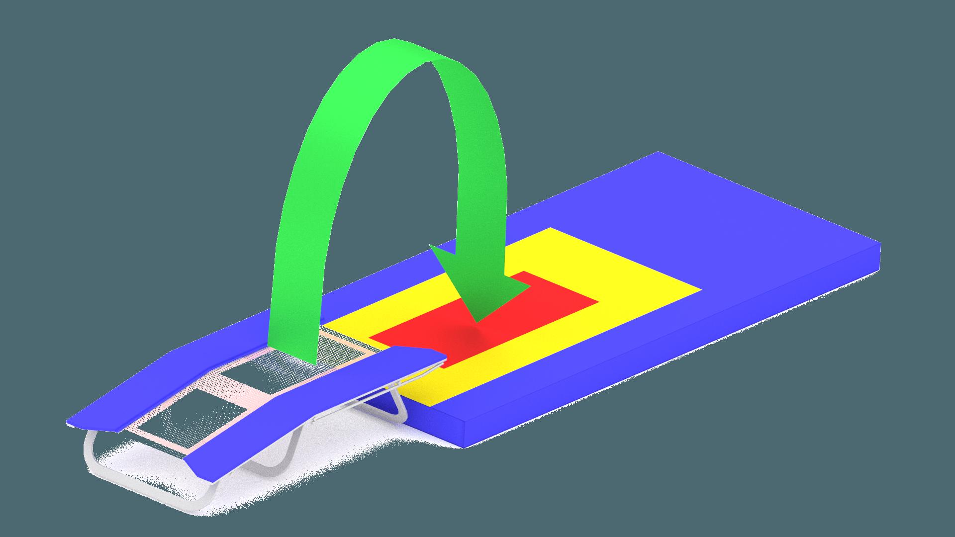 Double mini trampoline Jumps DMT.