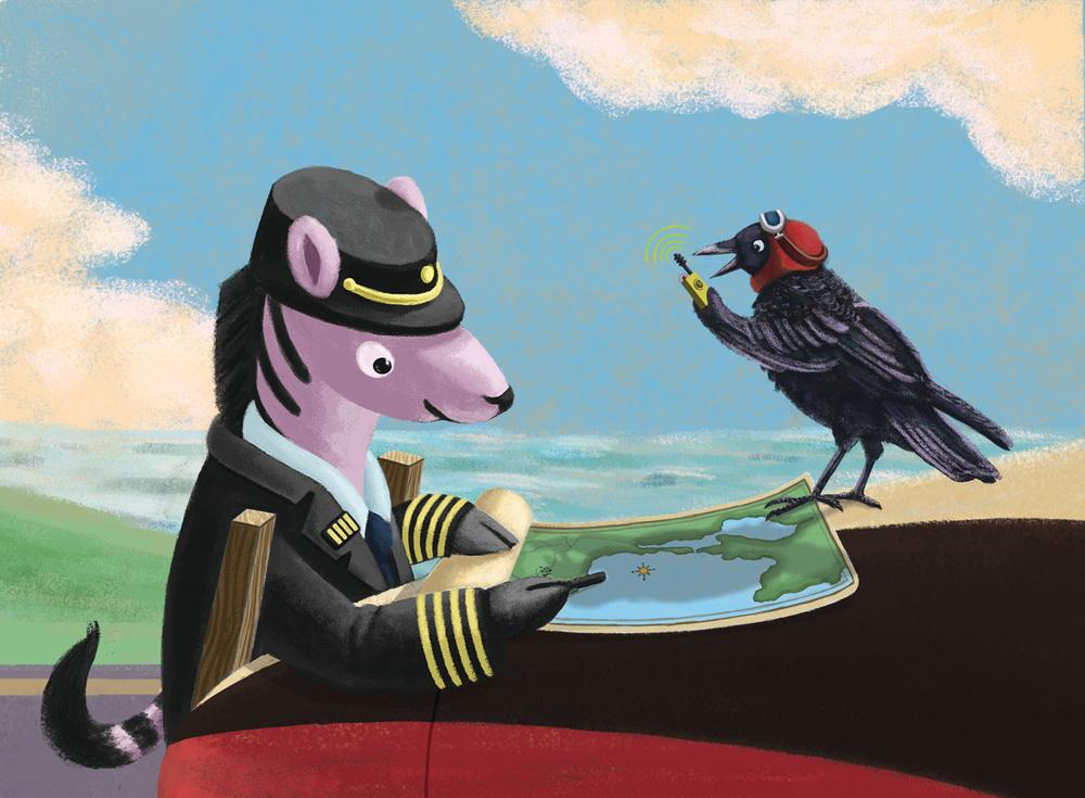 Children's book art — Johanna H. Kim.