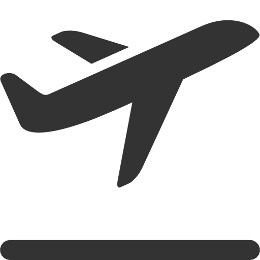 Airplane Takeoff Clip Art.