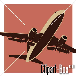 CLIPART PLANE TAKE OFF.
