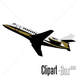 CLIPART JET TAKE OFF.