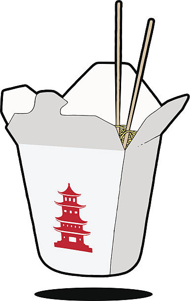 Chinese Take Out Clipart.