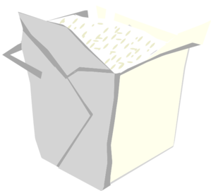 Take Out Box Simple Clip Art at Clker.com.