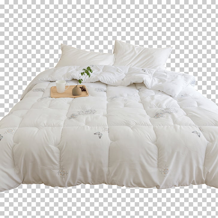 Bed frame Mattress Pads Bed skirt Bed Sheets, Mattress PNG.