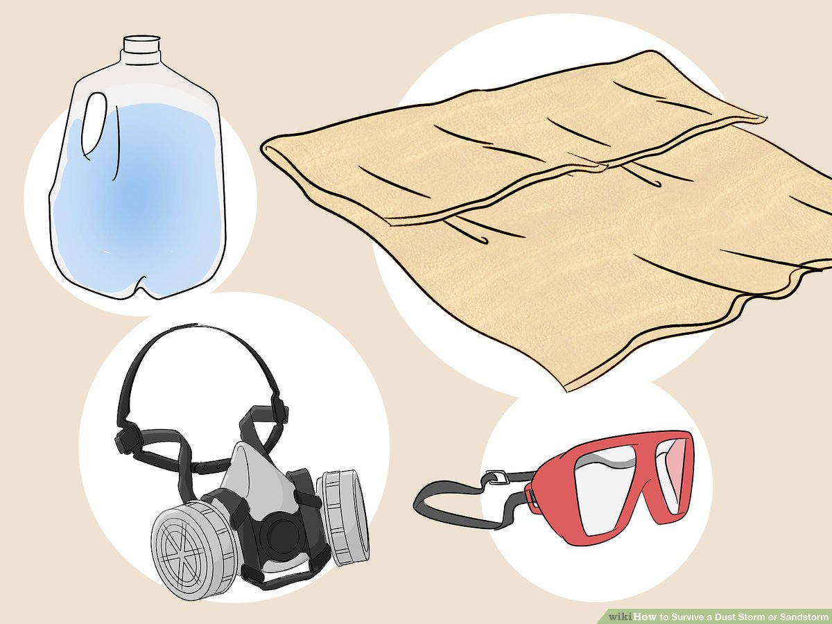 3 Ways to Survive a Dust Storm or Sandstorm.