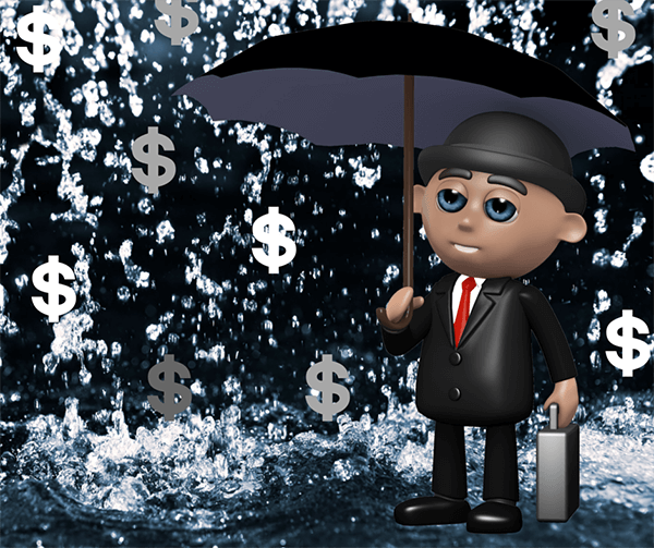 Take shelter against a financial storm.