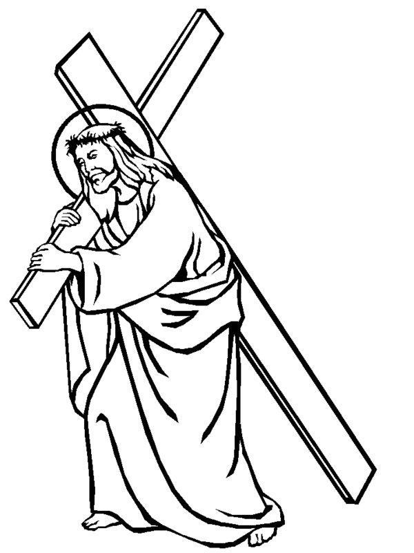 Free Jesus On The Cross Cartoon, Download Free Clip Art.