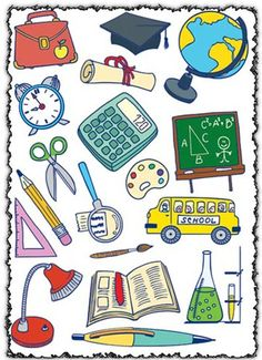 Take to school clipart.