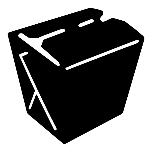 Chinese Take Out Boxes Clipart.