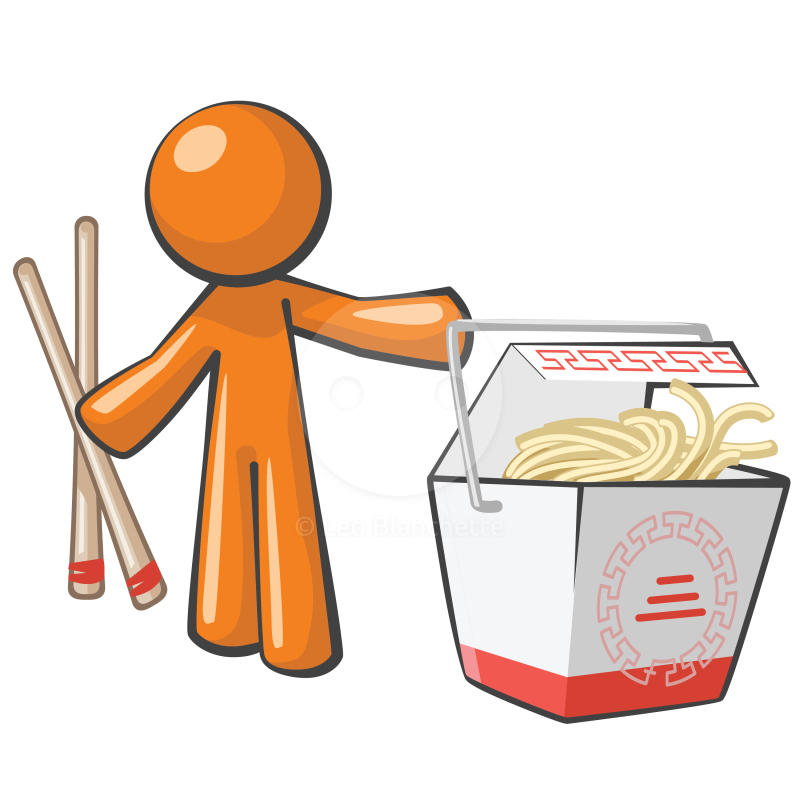 Take Out Food Clip Art.