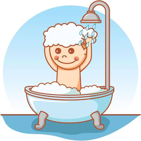 Taking a shower clipart 5 » Clipart Station.
