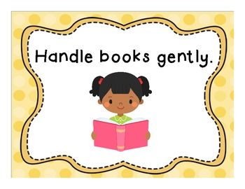 Classroom Library Book Bin Labels, Posters and More.