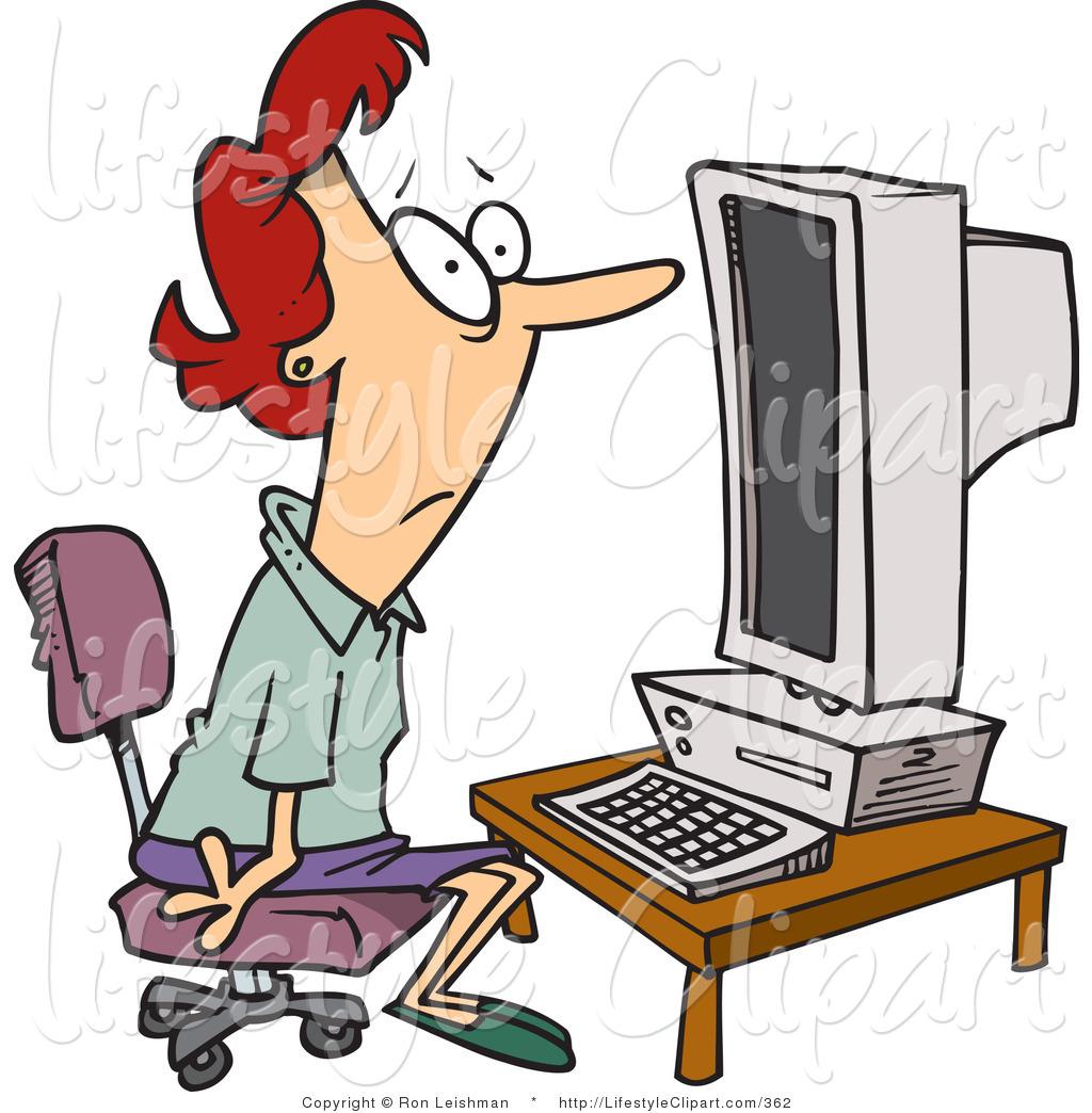 Computer Class Clipart.