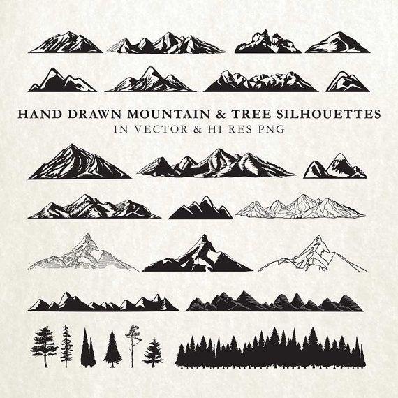 1000+ ideas about Mountain Silhouette on Pinterest.