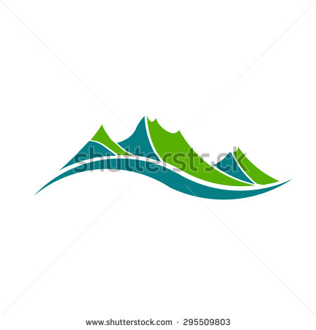 Mountain Valley Stock Images, Royalty.