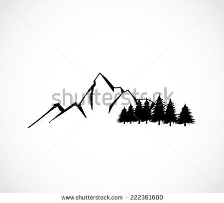 1000+ ideas about Mountain Silhouette on Pinterest.