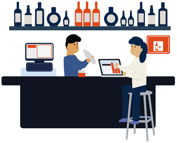 Bar Inventory Apps, Spreadsheets and Scales: Alternative.