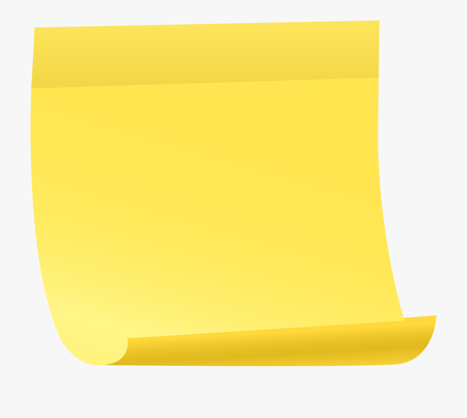 Sticky Notes Clipart.