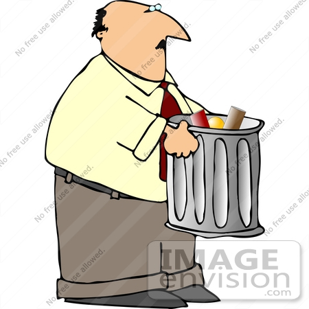 taking out the trash clip art.