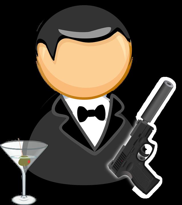 9+ James Bond Clipart.