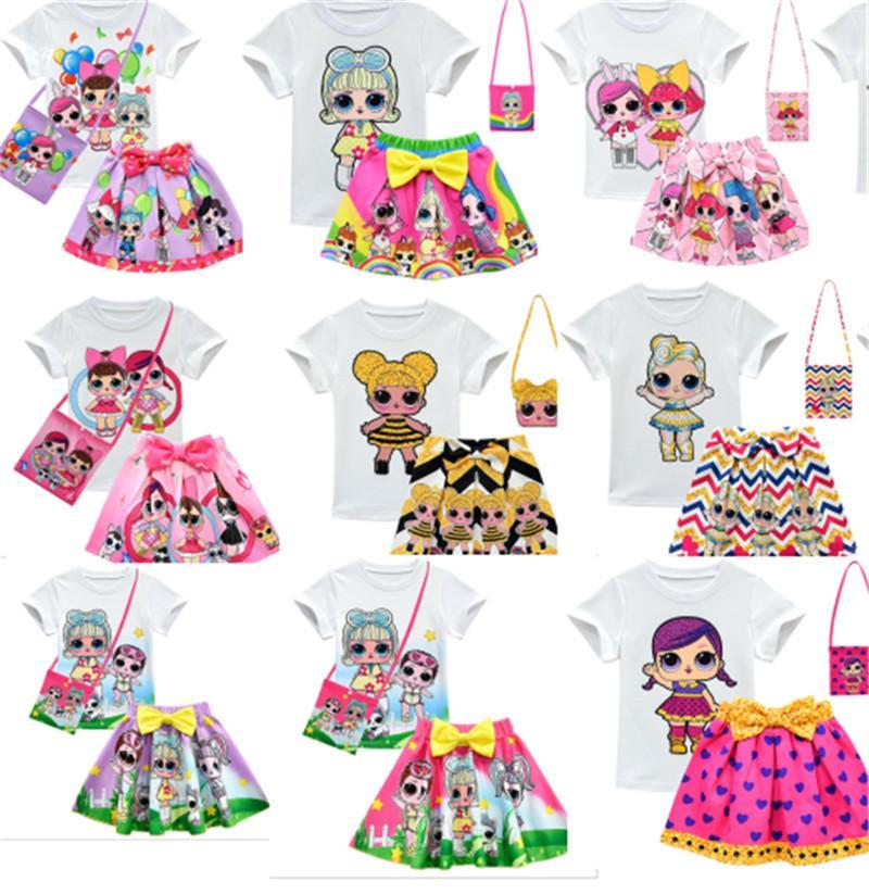 Sürpriz Kız Giyim Takım Elbise 3.