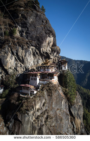 Paro Taktsang Stock Photos, Royalty.