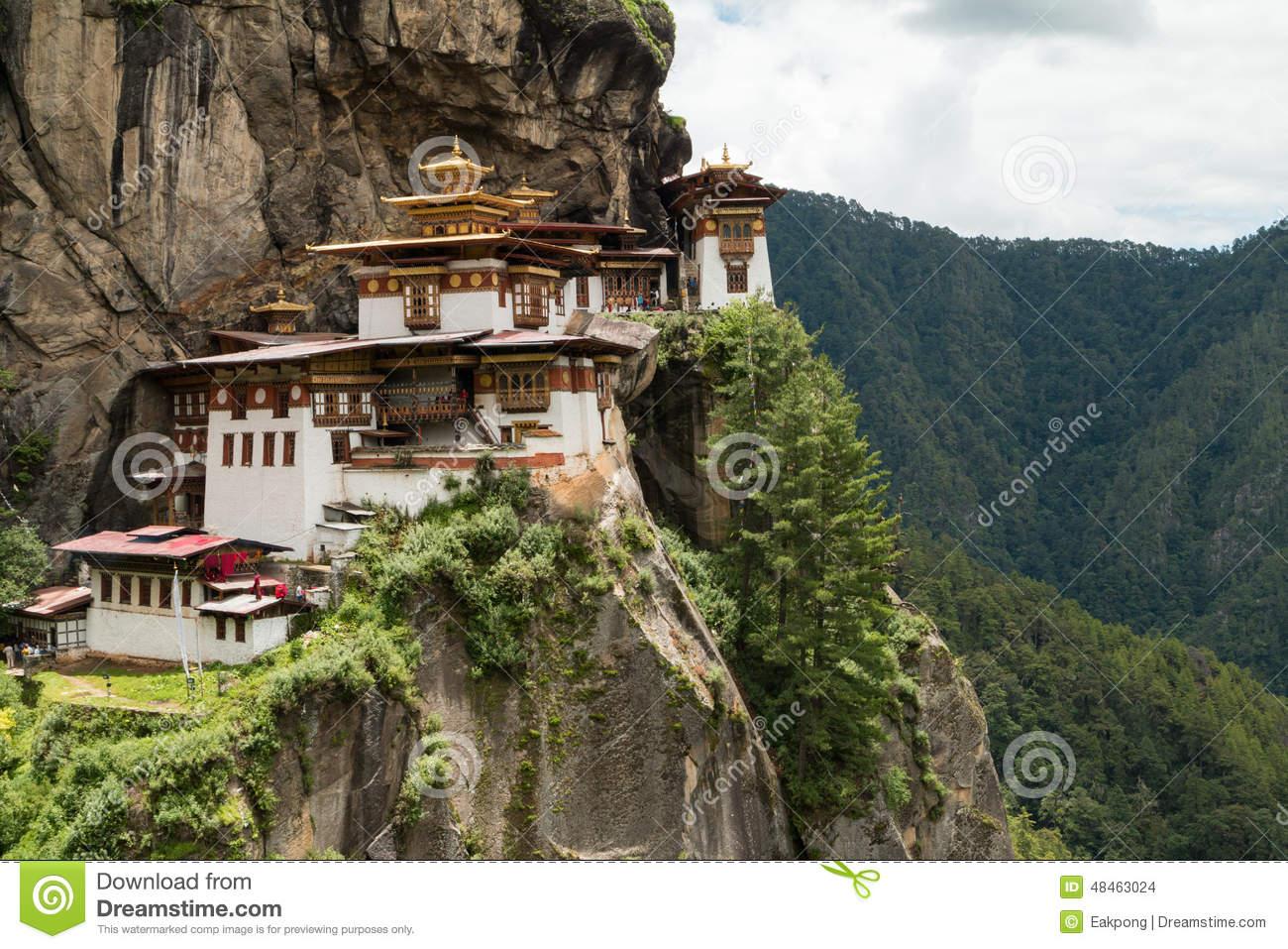 Taktsang Palphug Monastery (also Known As The Tiger Nest) , Paro.