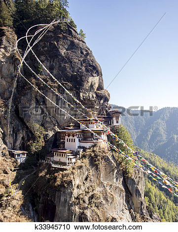 Stock Photography of Tiger Nest Buthan k33945710.
