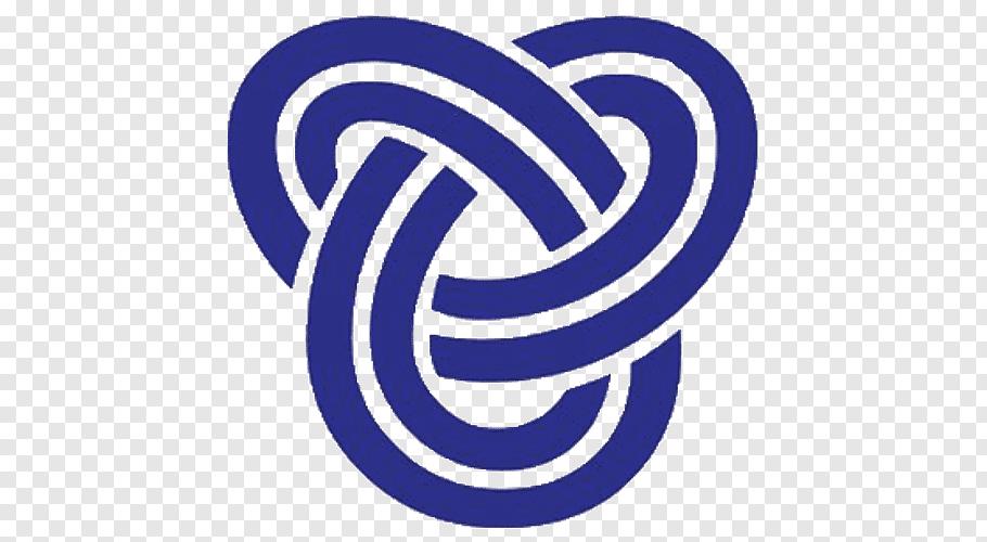 Bournemouth University Talbot Campus Electric Blue, Logo.