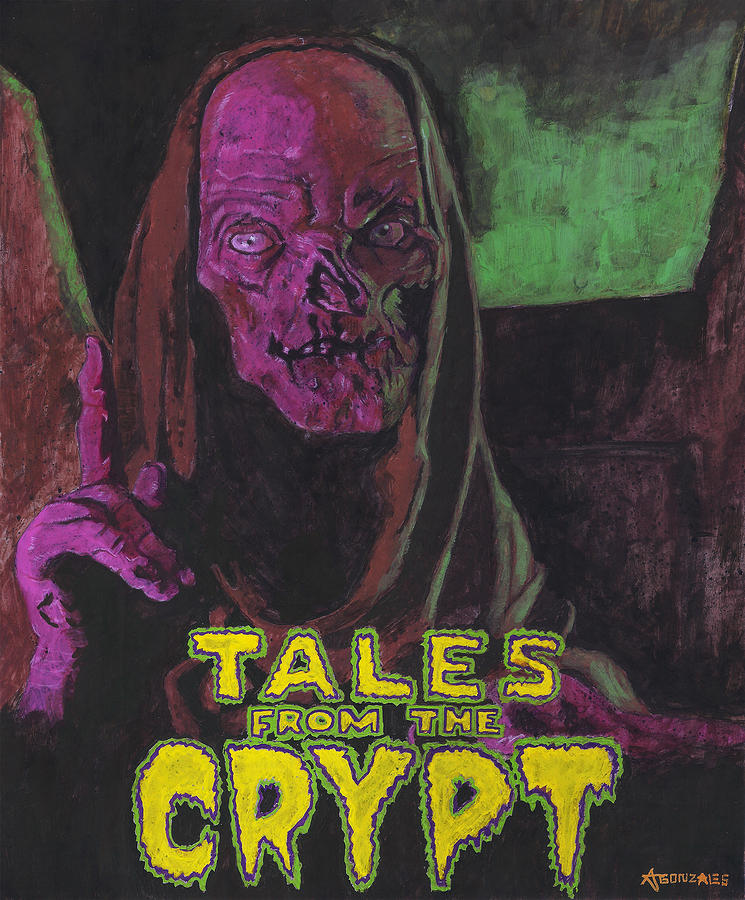 Tales From The Crypt With Text Logo Trademark.
