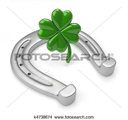 Clipart of Lucky symbols k11033621.