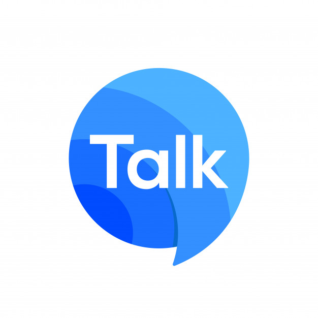 Logo talk speak speech chat bubble icon logo sign vector.