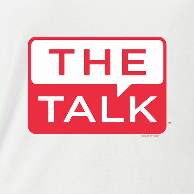 The Talk Logo Women\'s Scoop Neck T.