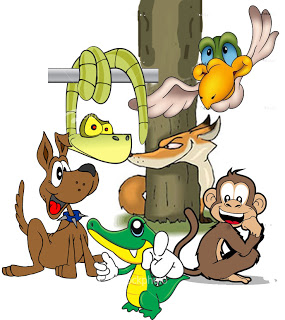Thus have I heard: Six Animals Tied to A Pole.