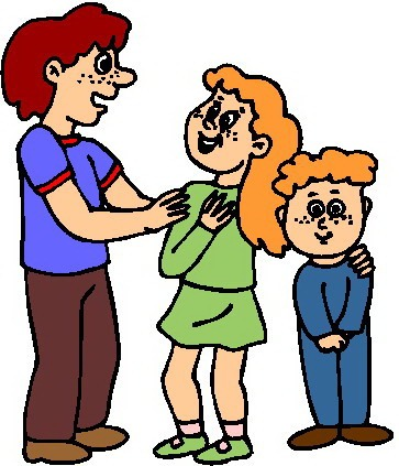 Talking To Parents Clipart.