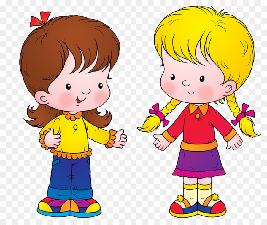 Friendship Cartoon clipart.
