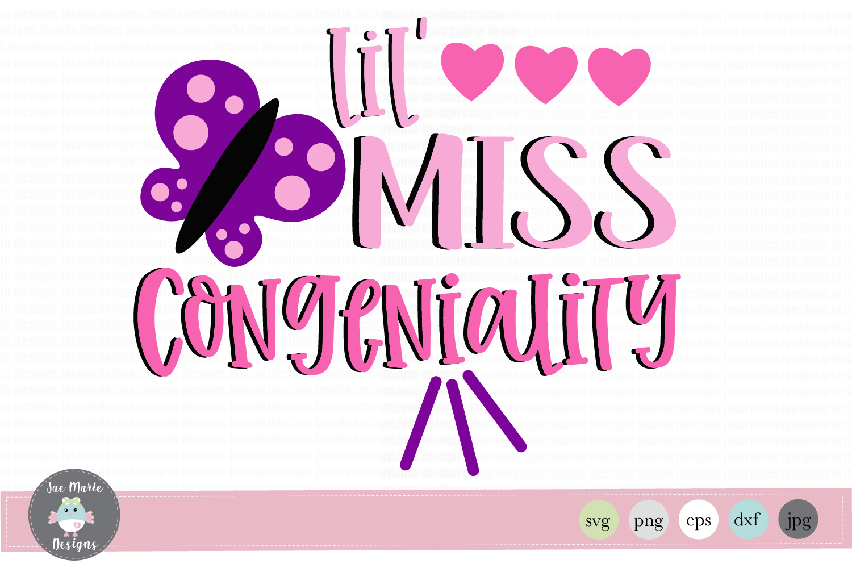 lil miss congeniality svg, talkative girl svg, school svg.